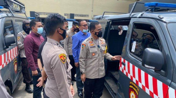 Polresta Cirebon Serahkan Mobil Patroli Pelayanan Masyarakat ke Jajaran Polsek di Kabupaten Cirebon