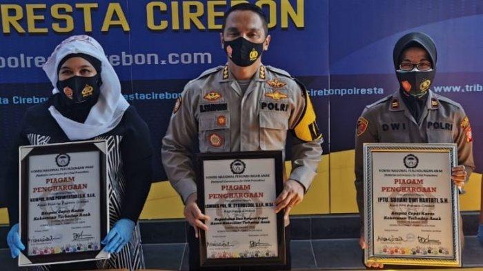 Polresta Cirebon Terima Penghargaan dari Komnas Perlindungan Anak, Responsif Ungkap Kasus Kekerasan