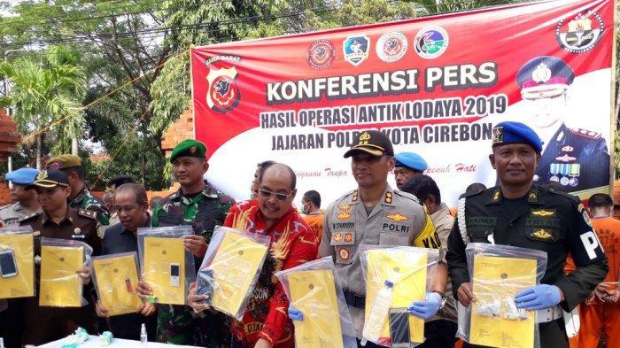 November-Desember 2019, Polresta Cirebon Berhasil Ungkap 13 Kasus Penyalahgunaan Narkotika