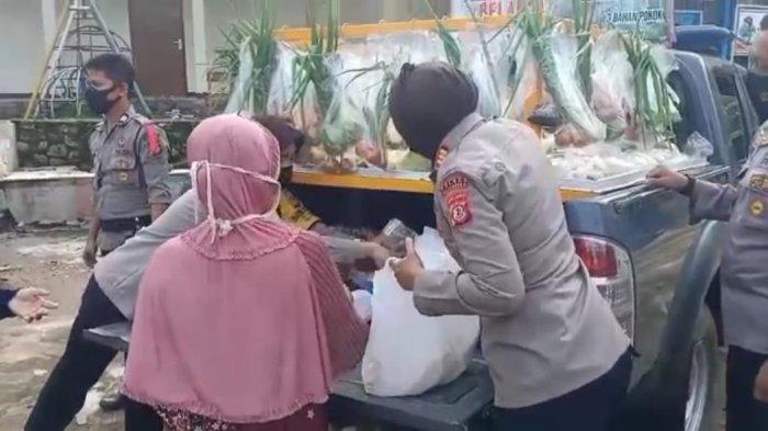 Polsek Cigasong Sediakan Program Selasa Belanja Cuma-cuma, Tujuannya Membantu Warga