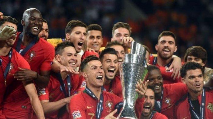 Cristiano Ronaldo Gagal Cetak Gol, Portugal Juara UEFA Nations League