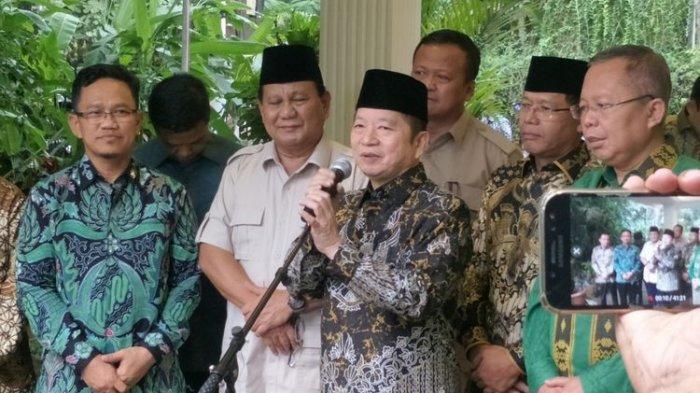 Bertemu Prabowo Subianto, Ketum PPP Suharso Sebut Bahas Politik: Supaya Bisa Hidup Tenang