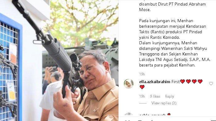 Menhan Prabowo Subianto Datangi Pindad Pakai Helikopter, Coba Rantis Komodo Uji Senapan Serbu