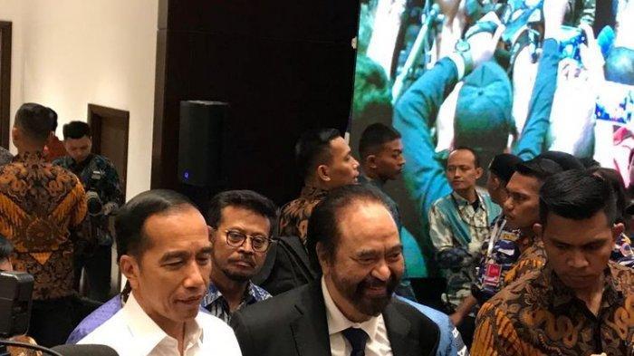 Sempat Bilang 'Cemburu' Lihat Surya Paloh Peluk Sohibul Iman, Jokowi Dapat Pelukan Erat Ketum Nasdem