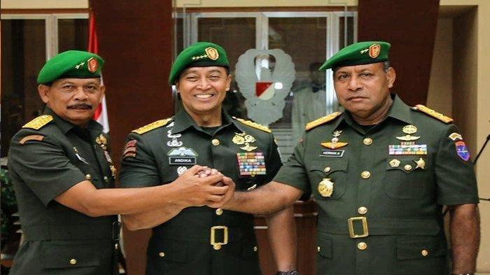 Wakilnya Jenderal Andika Perkasa Meninggal Dunia Akibat Sakit, Ini Profil Lengkap Herman Asaribab
