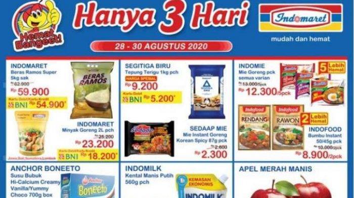 Promo JSM Indomaret Periode 25-27 September, Beras, Susu Hingga Snack Hemat Banget Hanya 3 Hari