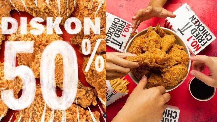 Promo KFC Diskon 50 Persen, 5 Potong Ayam Cuma Bayar Rp 41.818, Berlaku Sampai Besok, Buruan Beli!