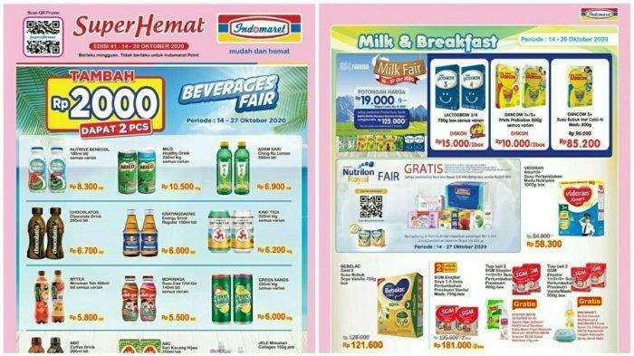 KATALOG Promo Indomaret 14-20 Oktober 2020, Super Hemat, Product of The Week & Promo Heboh Ada Semua