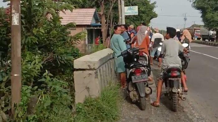 Derasnya Arus Sungai Bugel di Indramayu, Hanyutkan Remaja yang Sedang Mandi, Korban Belum Ditemukan