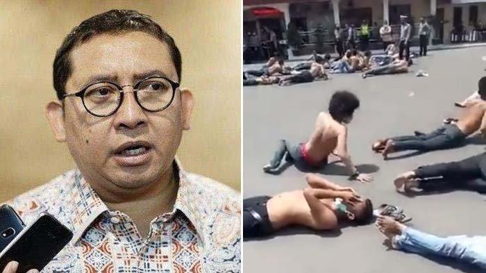 Puluhan Pendemo Dijemur Telentang di Aspal oleh Polisi di Cirebon, Fadli Zon: Pelanggaran Hak Asasi