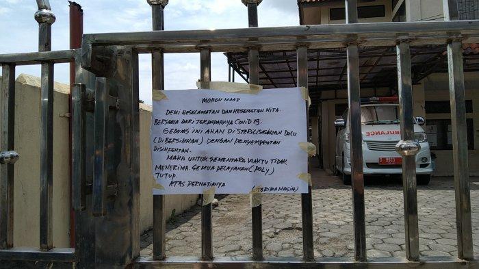 Puskesmas Melong Tengah Kota Cimahi Ditutup Selama 14 Hari, Ini Penyebab Penutupan