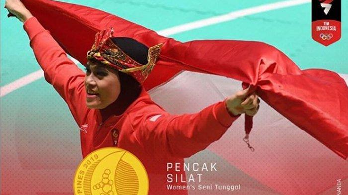 Puspa Arum Sari Taklukkan 7 Pesilat Tunggal Putri, Rebut Emas Perdana Pencak Silat SEA Games 2019