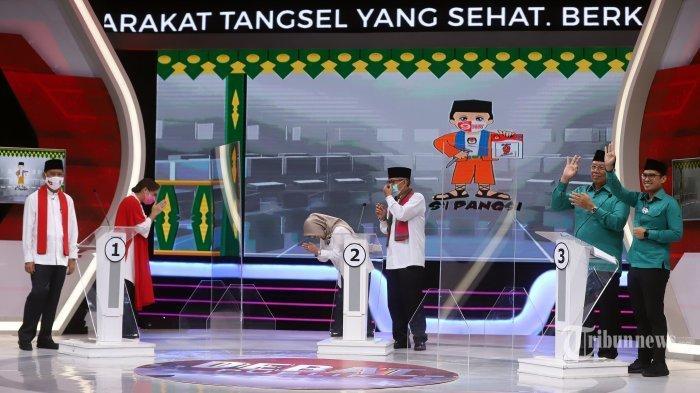 Putri Maruf Amin dan Keponakan Prabowo Kalah di Pilkada Tangsel Suara Masuk Hampir 100% Versi LSI