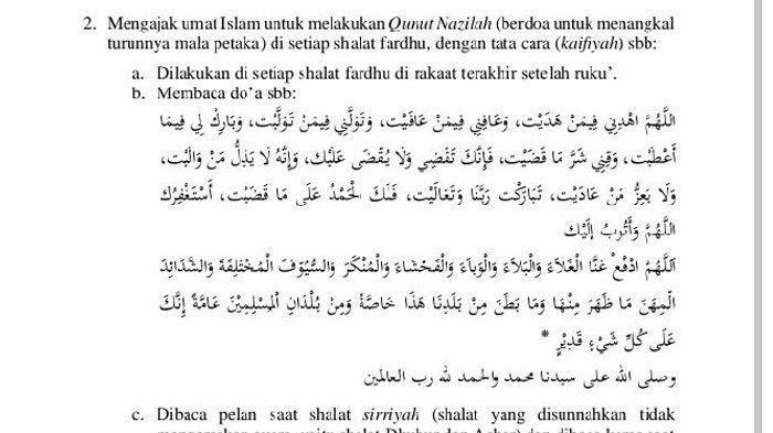 Doa Tolak Bala Tolak Wabah Mohon Pertolongan Allah SWT Lengkap dengan Huruf Latin dan Terjemahannya