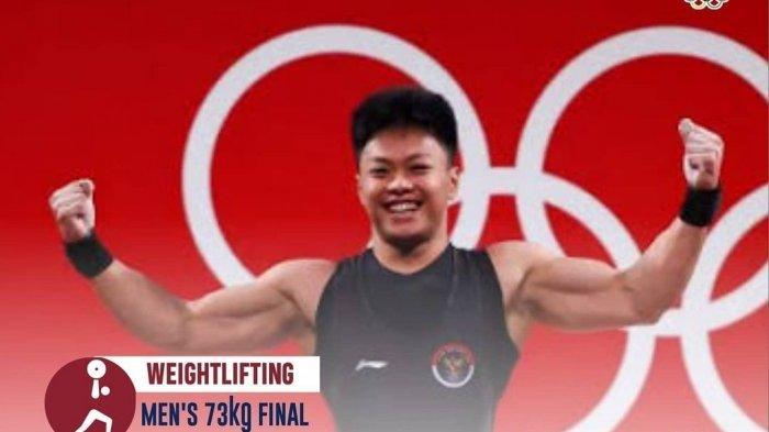 PROFIL Rahmat Erwin Abdullah, Lifter Peraih Medali Perunggu Olimpiade Tokyo, Pecahkan Rekor
