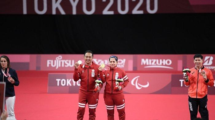 Hary Susanto/Leani Ratri Oktila yang memenangi medali emas Paralimpiade Tokyo 2020