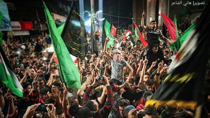 Israel dan Hamas Sepakati Gencatan Senjata, Rakyat Palestina Rayakan Kemenangan di Gaza & Tepi Barat
