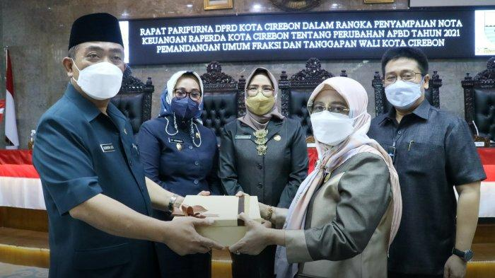Fraksi-fraksi DPRD Kota Cirebon Sepakat Perubahan APBD 2021 Dibahas Lebih Lanjut