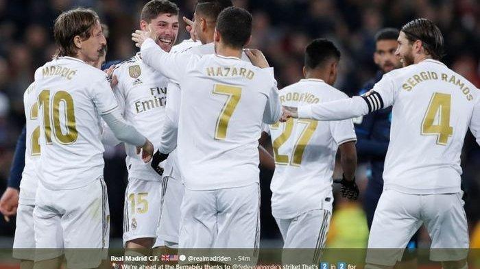 LIVE Liga Champions Hari Ini - Real Madrid vs Manchester City, Disiarkan Langsung SCTV, Tonton di HP