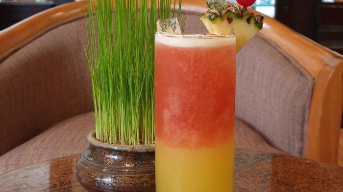 Menikmati Kesegaran Red Sunrise dan Wedang Sereh, Minuman Spesial dari Hotel Santika Cirebon
