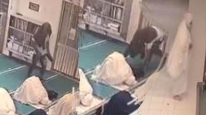 Tas Miliknya Digasak saat Shalat Berjamaah, Wanita Ini Bangun dari Sujud dan Langsung Kejar Pencuri