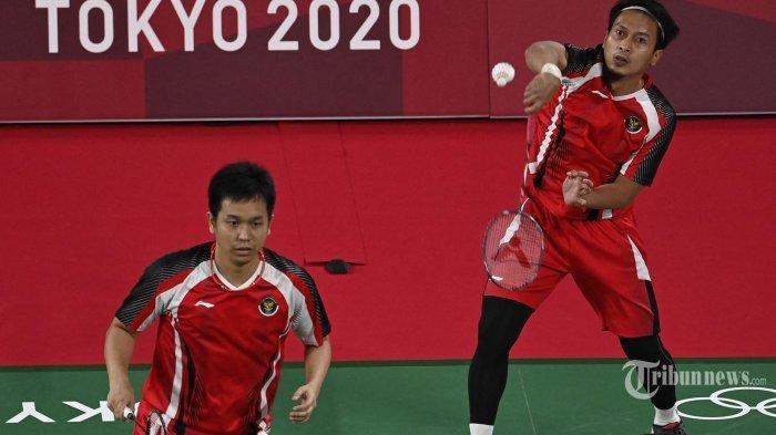 Kuat, Kuat! Hasil Bulutangkis Olimpiade Tokyo, Kalahkan Jepang, Ahsan/Hendra Maju ke Semifinal
