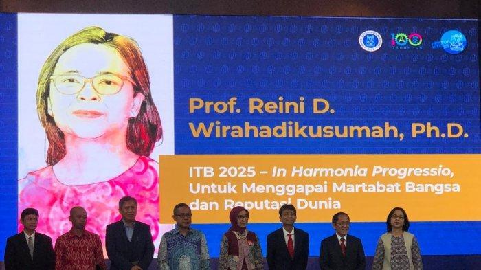 Reini D Wirahadikusumah, Perempuan Pertama yang Jadi Rektor ITB
