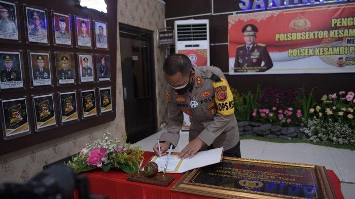 Polsek Kesambi Secara Resmi Disahkan Kapolres Cirebon Kota dengan 21 Personel: Siap Melayani