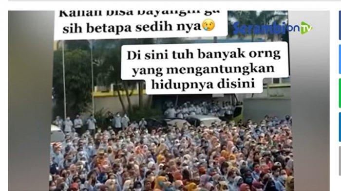 Efek PPKM Darurat, Sejumlah Perusahaan di Bandung Barat Tumbang, Para Bos Tak Mampu Bayar Karyawan