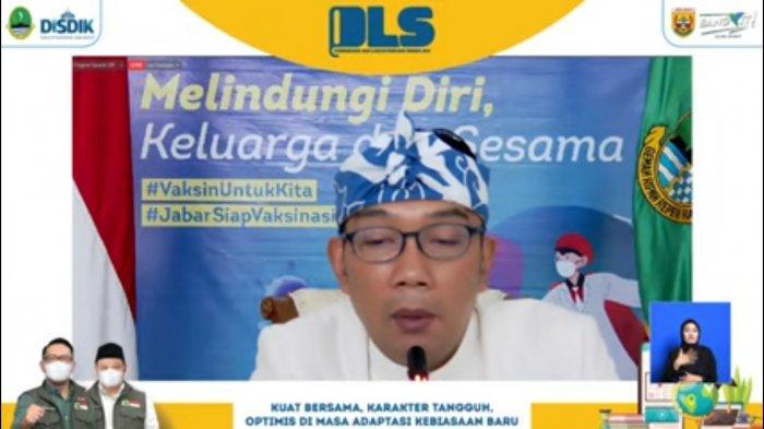 Siswa Baru SMA, SMK dan SLB Ikuti PLS 2021 Melalui Zoom dan YouTube, Emil: 'ARMY Tong Parasea'