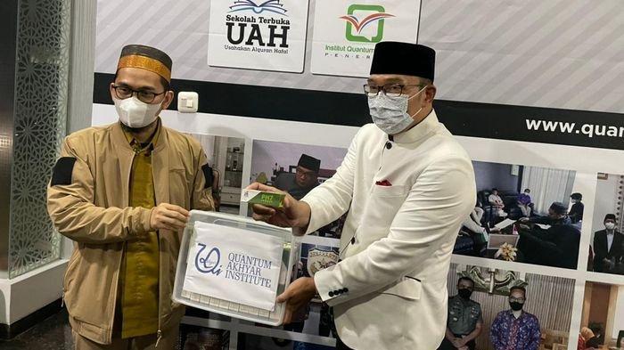 Gubernur Jabar Ridwan Kamil Bertemu Ustaz Adi Hidayat, Apa Gerangan yang Dibicarakan?