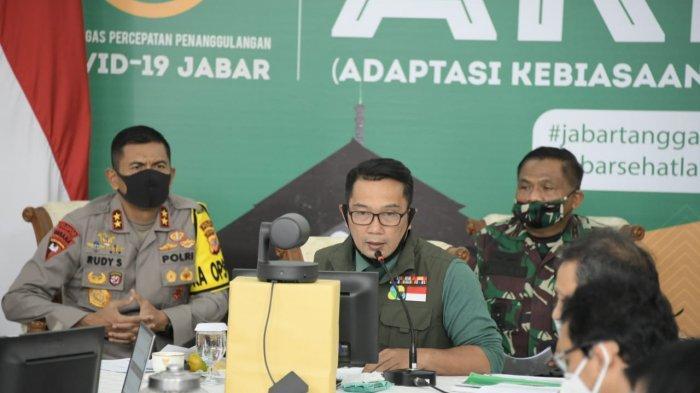 PSBB di Jabar Berakhir Lanjut Penerapan 100% AKB, Gubernur Ridwan Kamil Minta Warga Tetap Waspada