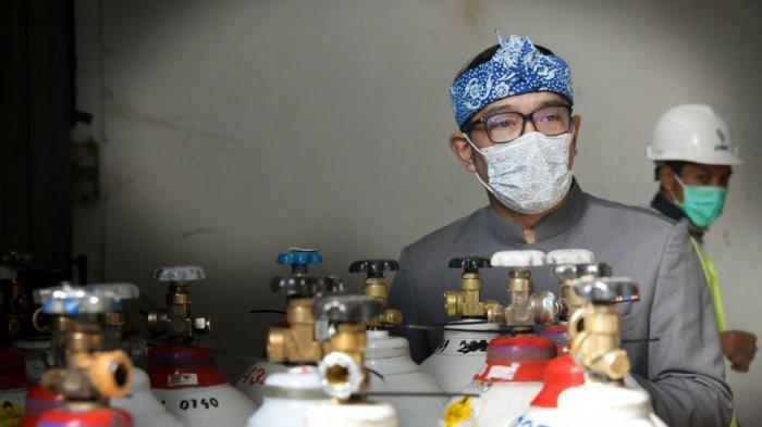 Ridwan Kamil Prioritaskan Tabung Oksigen untuk Rumah Sakit, Baru Nanti Pasien Isolasi Mandiri