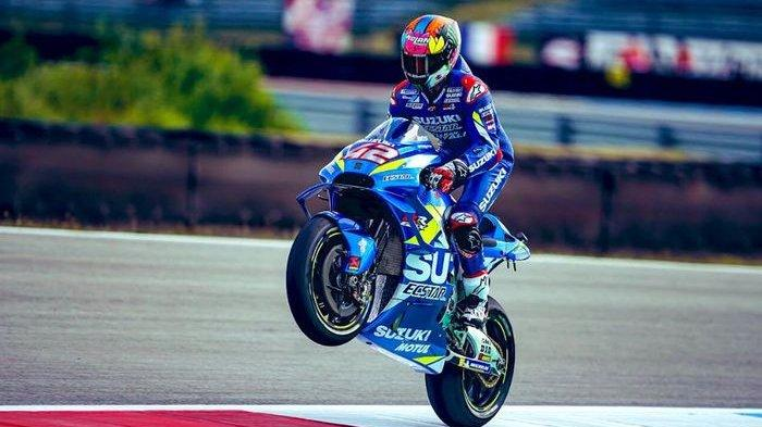 Alex Rins Berhasil Jadi Juara MotoGP Aragon 2020, Suzuki Ecstar Kuasai Podium