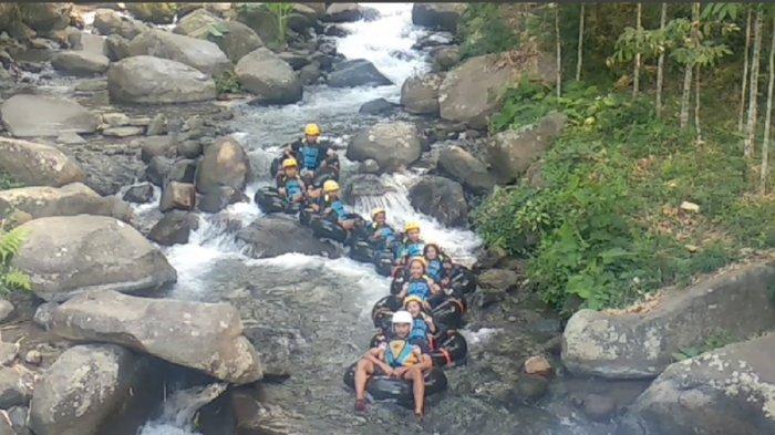 Sensasi Berlibur yang Picu Adrenalin di River Tubing Cikadongdong Majalengka, Cukup Bayar Rp 30 Ribu
