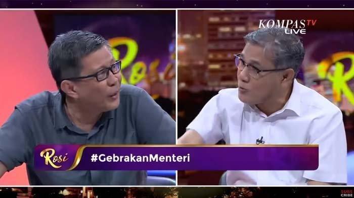SERU, Rocky Gerung Adu Debat Bareng Politisi PDIP Budiman Sujatmiko Menyoal FPI Hingga PSSI