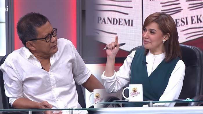 Rocky Gerung Beri Nilai A Minus untuk 1 Tahun Pemerintahan Jokowi-Maruf Amin, Najwa Shihab Kaget