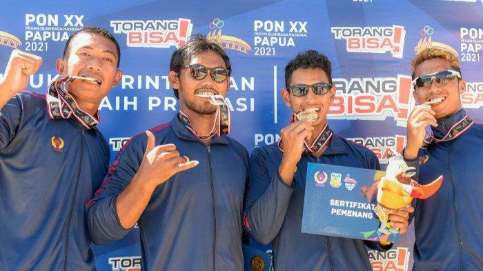 Pedayung Jabar Borong Medali Emas, Masih Nomor Satu di Klasemen Sementara, Jatim Salip DKI & Papua