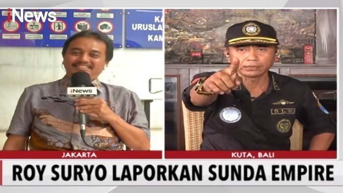 Roy Suryo Bagikan Foto Masa Lalu Petinggi Sunda Empire, Sebut Rangga Sasana Hanyalah Wayang