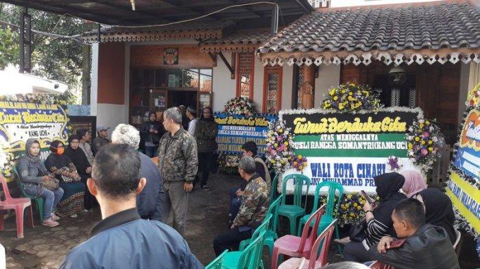 Jenazah Seniman Komedian Kang Uci Disalatkan di Masjid Jami Nurussalam Cimahi, Ki Daus Turut Melayat