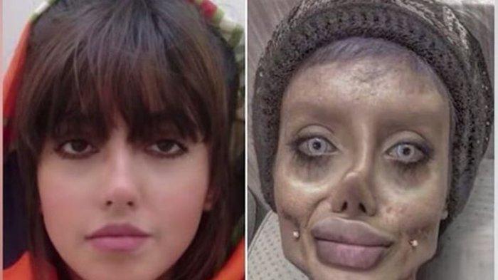 INI Profil Sabar Tabar Si Zombie Angelina Jolie, Kini Dia Jalani Tahanan 10 Tahun Penjara di Iran