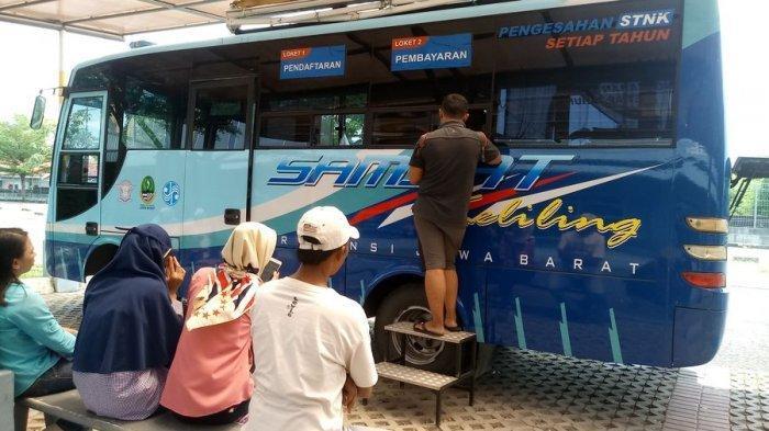 Samsat Keliling di Kabupaten Cirebon Hari Ini Ada di Desa Pangkalan Kecamatan Plered