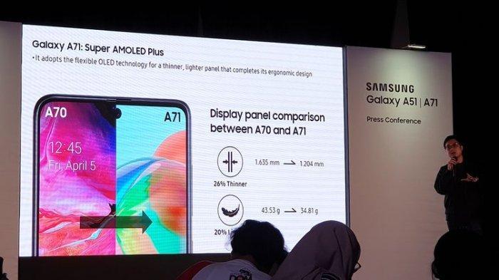 INI Harga HP Samsung Galaxy A71, Sudah Bisa Dipesan Mulai Hari Senin Ini, Waktunya Cuma Seminggu