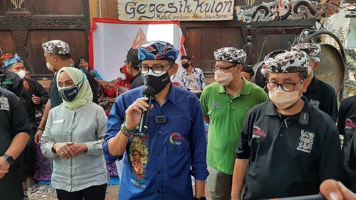Resmikan Desa Wisata Gegesik Kulon, Menparekraf RI Titipkan Hal Ini ke Pemkab Cirebon