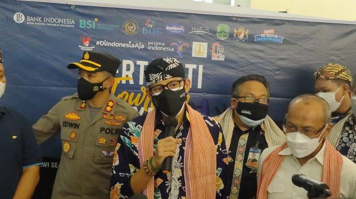 Datang keMajalengka, Sandiaga Uno Beri Pesan ke Pelaku Pariwisata