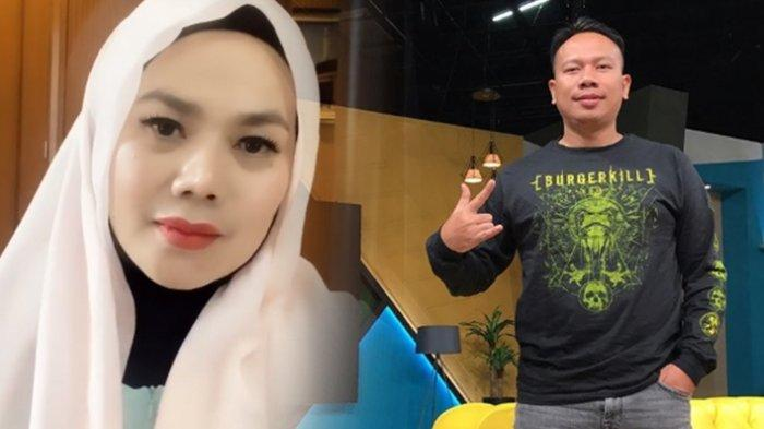 Janda Kaya Raya Sarita Abdul Mukti Dipeluk Mesra Vicky Prasetyo dari Belakang, Posenya Menggoda