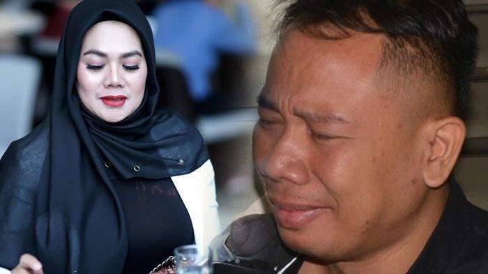 Vicky Prasetyo Peluk Mesra Janda Kaya Raya Sarita Abdul Mukti, Dagu Vicky Ditempel ke Leher Sarita