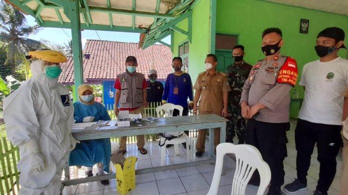 15 Warganya Terkonfirmasi Positif Covid-19,  Satu RT di Pamarican Ciamis Lockdown