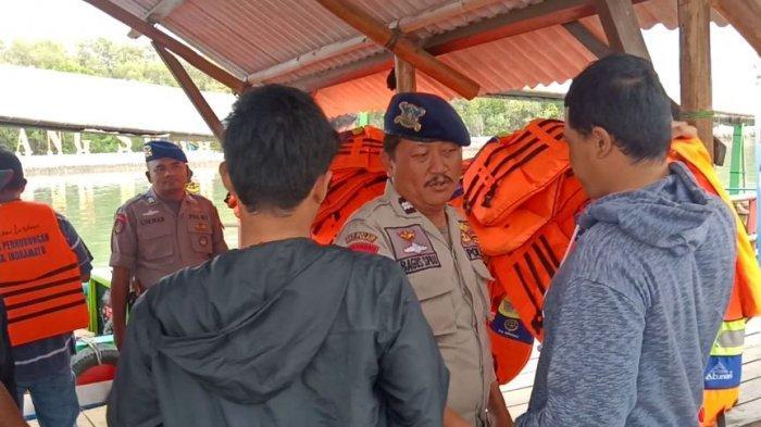Menjelang Hari Natal dan Tahun Baru, Polisi Lakukan Pengamanan di Objek-Objek Wisata di Indramayu