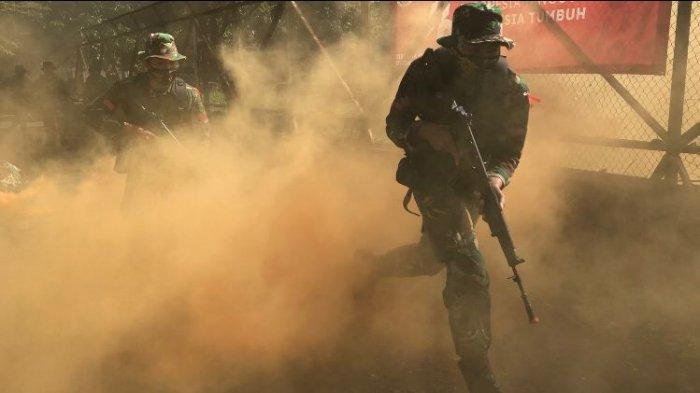 Kawasan Lanud Husein Mencekam, Terdengar Suara Tembakan, Sat Bravo 90 Turun Tangan, Ini Faktanya